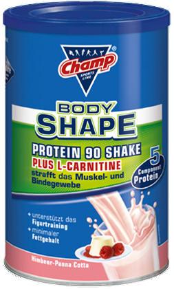 champ protein 90 l carnitin shake himbeer. Black Bedroom Furniture Sets. Home Design Ideas