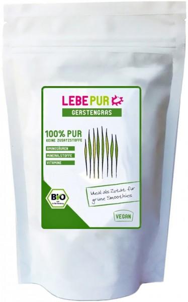 LebePur Bio Smoothie Pulver Gerstengras