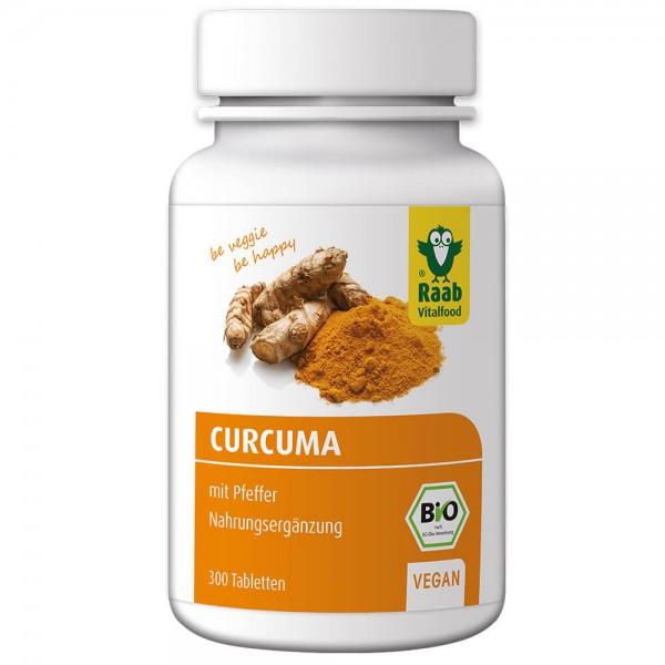 Raab Bio Curcuma mit Pfeffer Tabletten