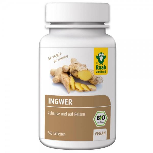 Raab Bio Ingwer Tabletten