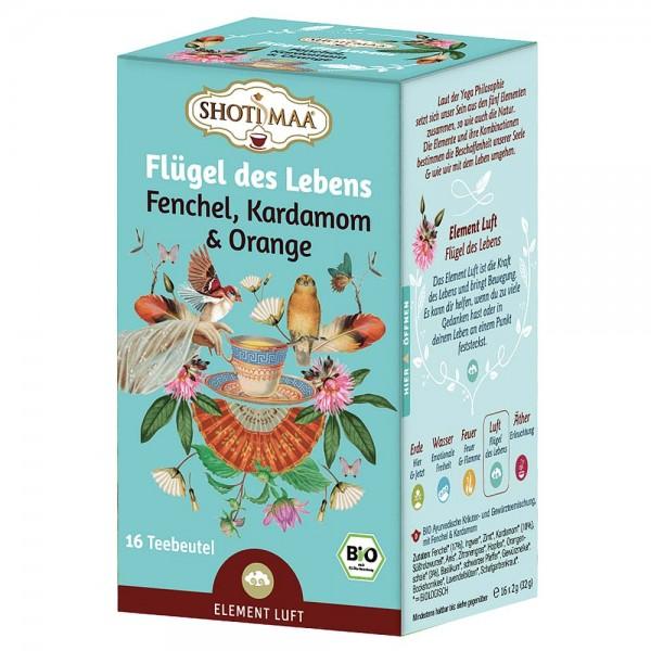 Shoti Maa Bio Flügel des Lebens Tee Beutel