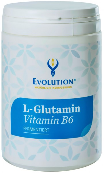 Evolution L-Gutamin Vitamin B6 Pulver