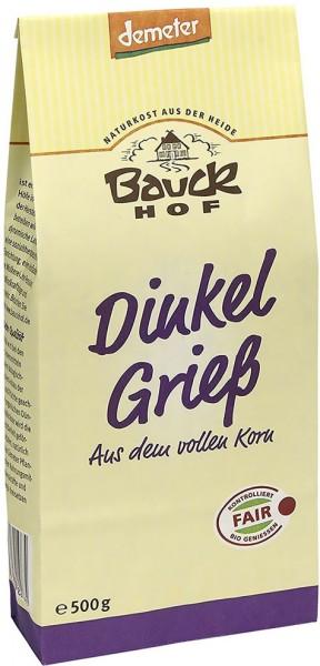 Bauckhof Bio Dinkel Grieß
