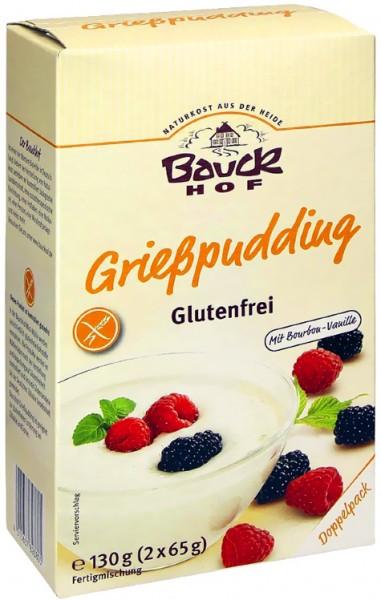 Bauckhof Bio Grießpudding glutenfrei