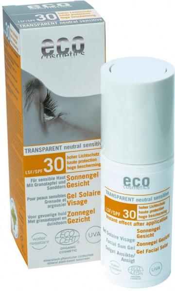 eco cosmetics Sonnengel Gesicht LSF30