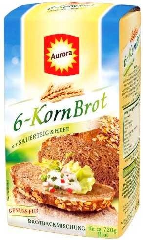 Aurora 6-Korn-Brot Backmischung
