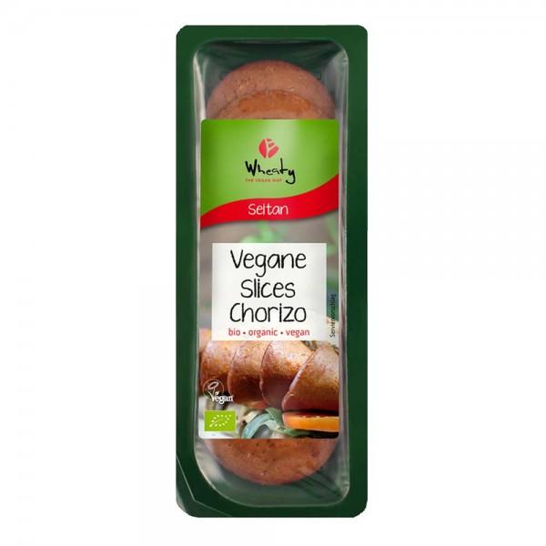 Topas Wheaty Bio Vegane Slices Chorizo