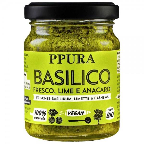 PPURA Bio Pesto Basilikum Limette