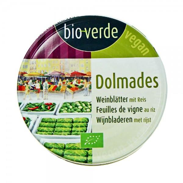 bio-verde Bio Dolmades gefüllte Weinblätter