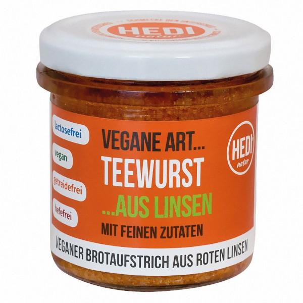 HEDI Vegane Art Bio Teewurst