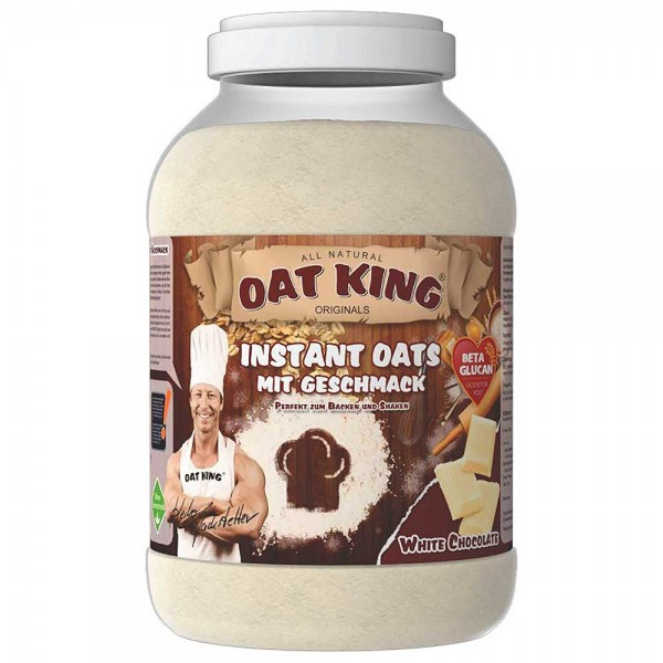 OAT KING Instant Oats White Chocolate