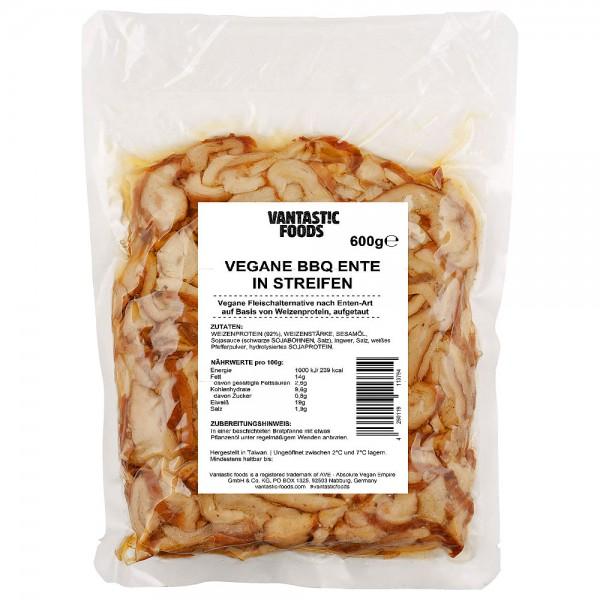 Vantastic Foods Vegane BBQ Ente in Streifen