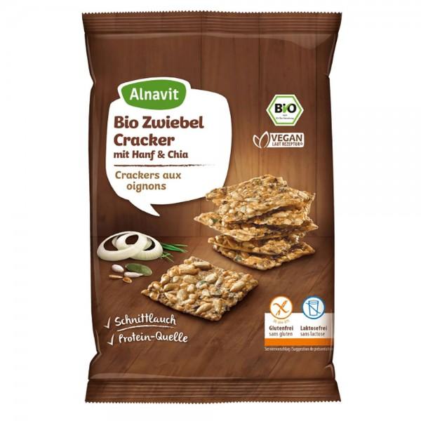Alnavit Bio Zwiebel Cracker Hanf & Chia