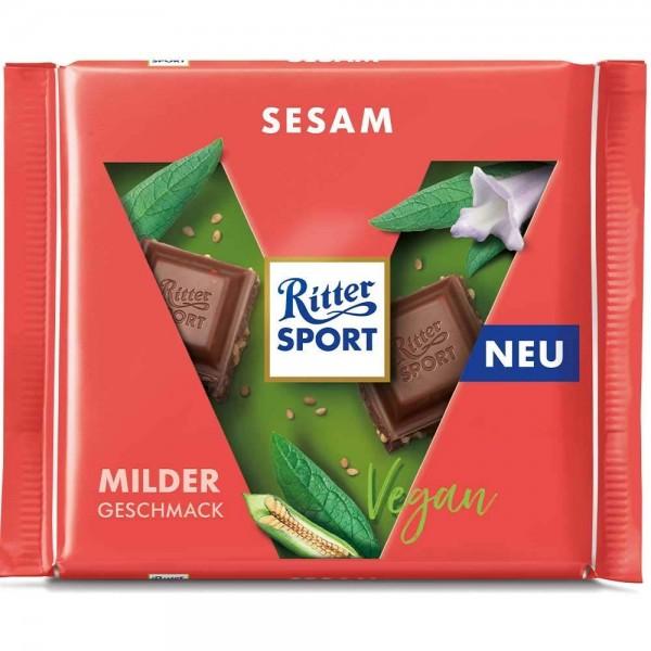 Ritter Sport Sesam Schokolade vegan