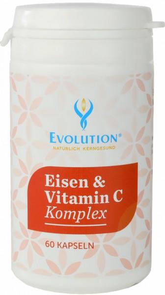 Evolution Eisen & Vitamin C Kapseln