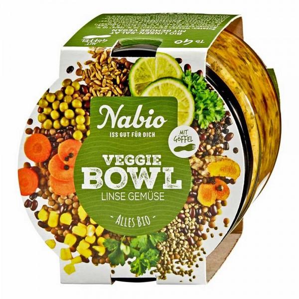 Nabio Veggie Bowl Bio Linsen-Salat