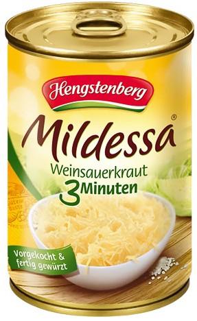 Hengstenberg Mildessa Weinsauerkraut 3 Minuten