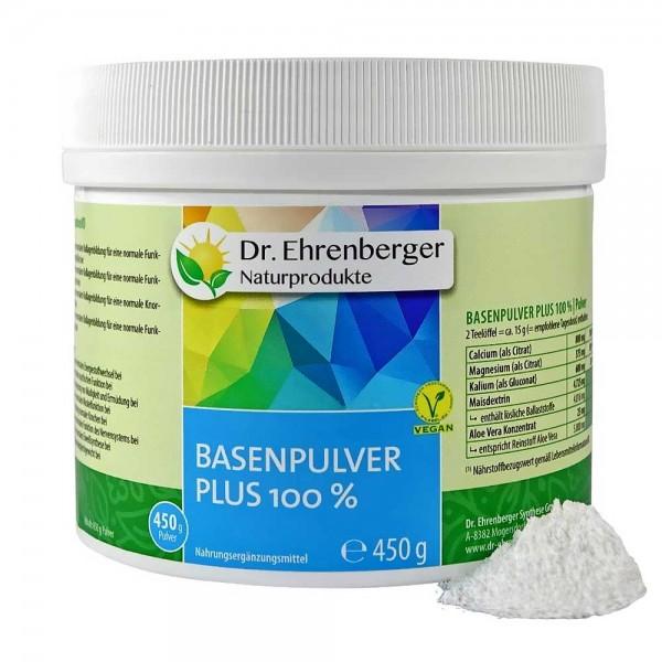 Dr. Ehrenberger Basenpulver Plus 100%