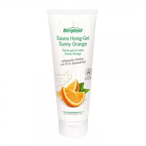 Bergland Sauna-Honiggel Sunny Orange
