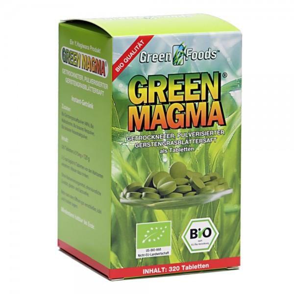 Green Magma Bio Gerstengrassaft Tabletten