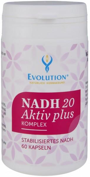 Evolution NADH 20 Aktiv plus Komplex Kapseln