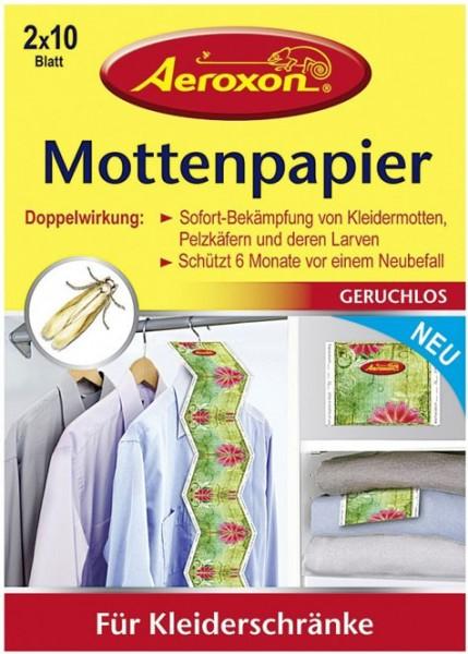 Aeroxon Mottenpapier Blätter