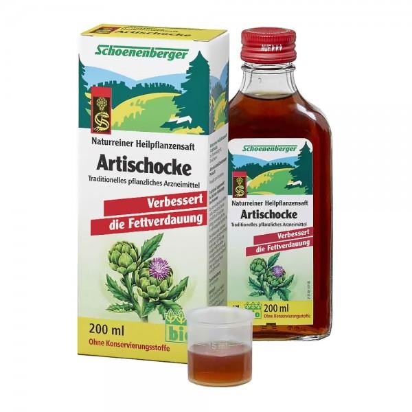 Schoenenberger Bio Artischocken Saft