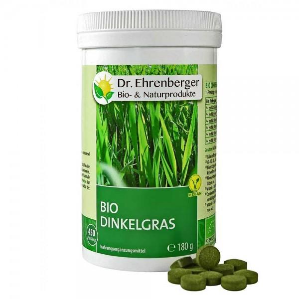Dr. Ehrenberger Bio Dinkelgras Presslinge