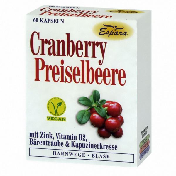 Espara Cranberry Preiselbeere Kapseln