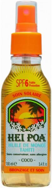 Hei Poa Monoi Sonnenschutz Spray LSF6 kokos