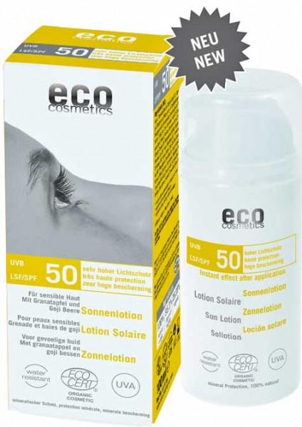 eco cosmetics Sonnenlotion LSF50