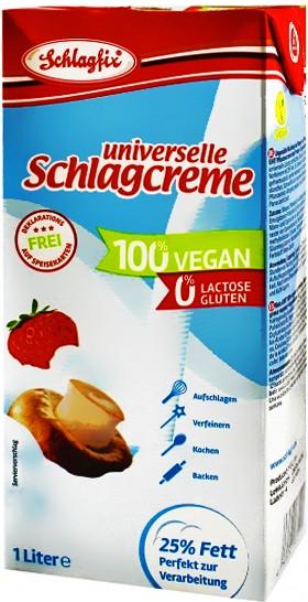 Schlagfix Schlagcreme 25% Fett ungesüßt