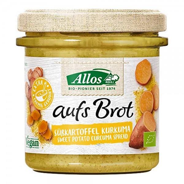 Allos Bio aufs Brot Süßkartoffel Kurkuma