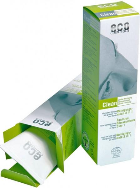eco cosmetics Reinigungsmilch 3 in 1