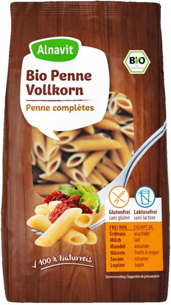 Alnavit Bio Penne Vollkorn glutenfrei