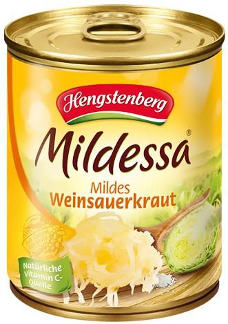 Hengstenberg Mildessa Weinsauerkraut