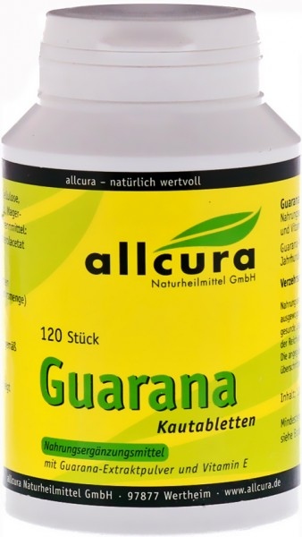 Allcura Guarana Tabletten