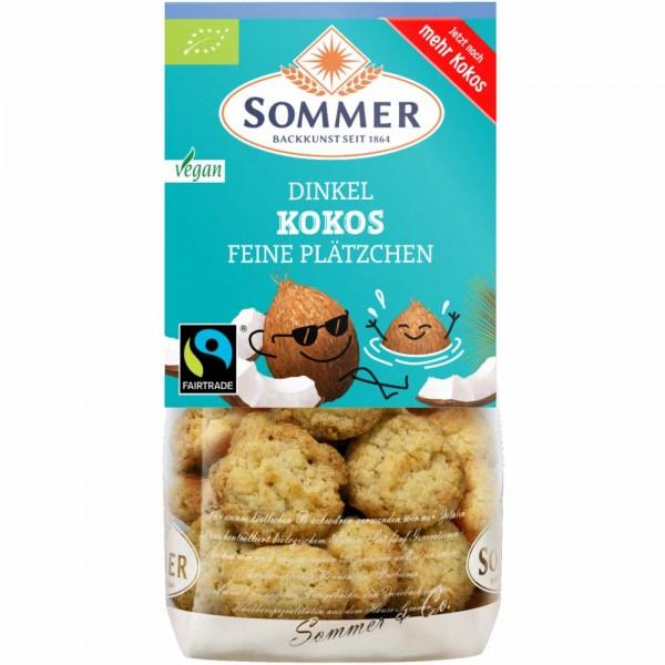 Sommer Bio Dinkel Kokos Feine Plätzchen