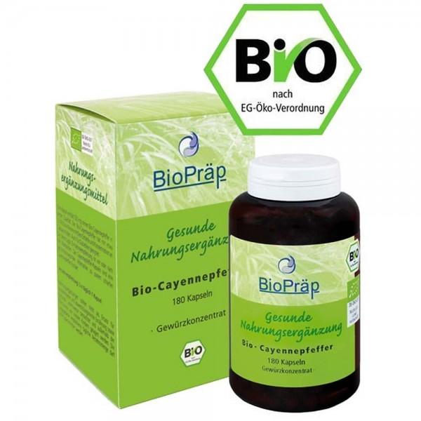 BioPräp BIO Cayennepfeffer Kapseln