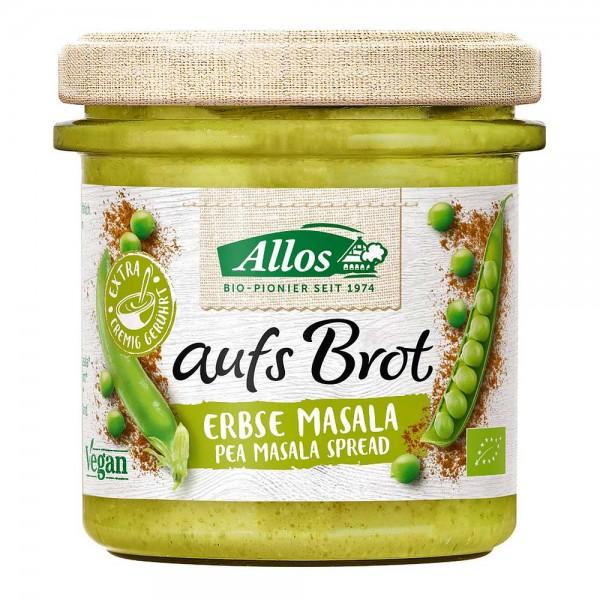 Allos Bio aufs Brot Erbse Masala