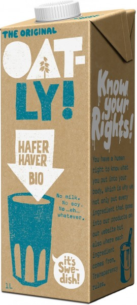 Oatly Bio Haferdrink original