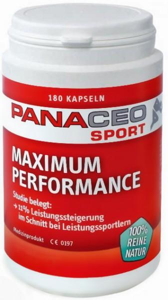 Panaceo Sport Maximal Performance Kapseln