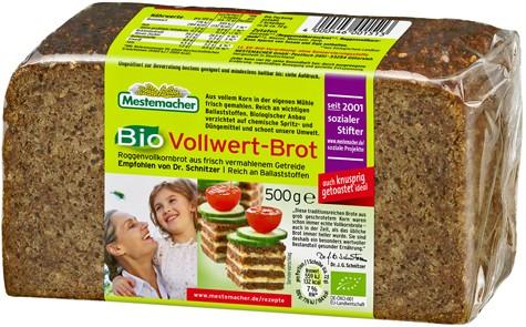 Mestemacher Bio Vollwertbrot