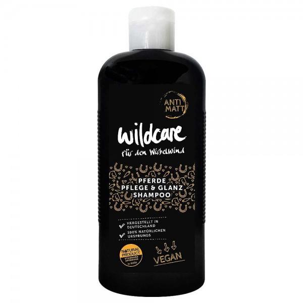 Wildcare Pferde Pflege & Glanz Shampoo ANTI MATT