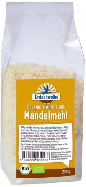 Erdschwalbe Bio Mandelmehl