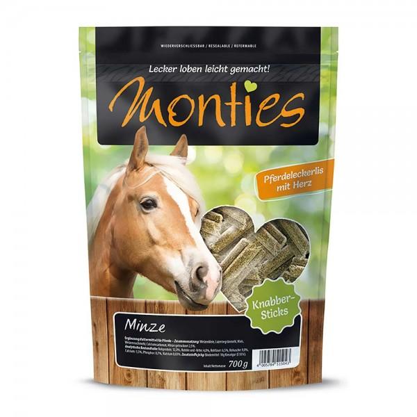 Monties Pferde-Snack Minze