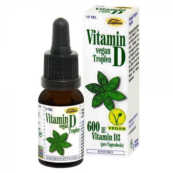 Espara Vitamin D vegan Tropfen