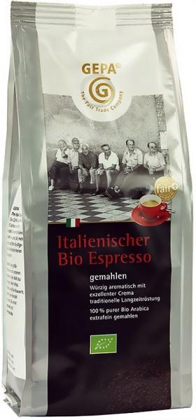 GEPA Bio Fair Italienischer Espresso gemahlen
