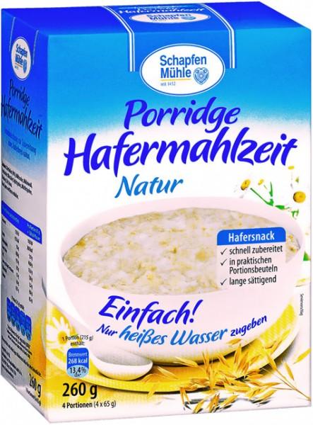 Schapfenmühle Hafer Porridge natur