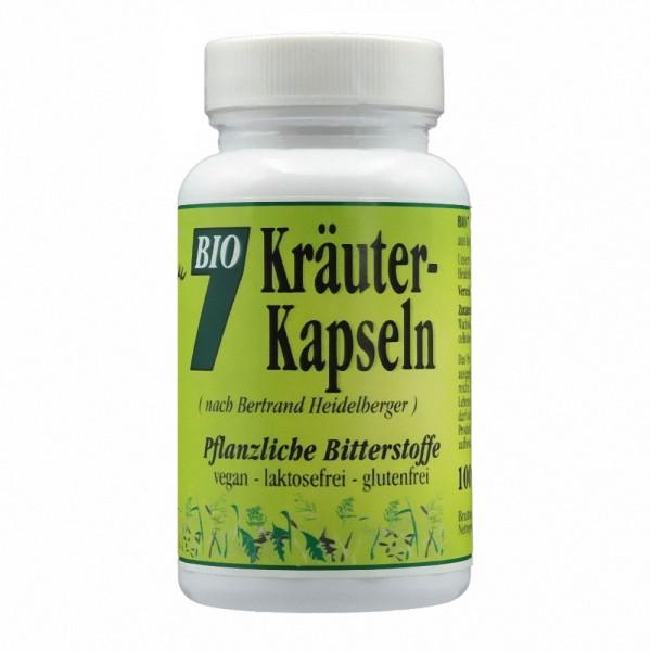 Gesund & Leben Bio 7 Kräuter Kapseln